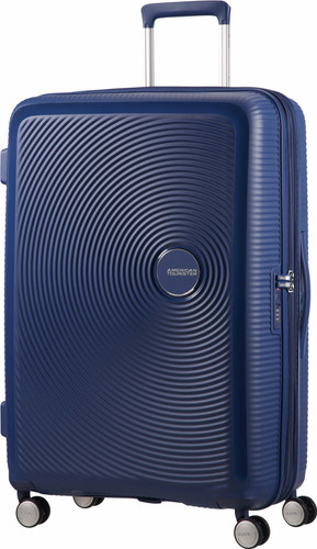 American Tourister Soundbox Expandable Spinner 77cm Midnight Navy Main Image