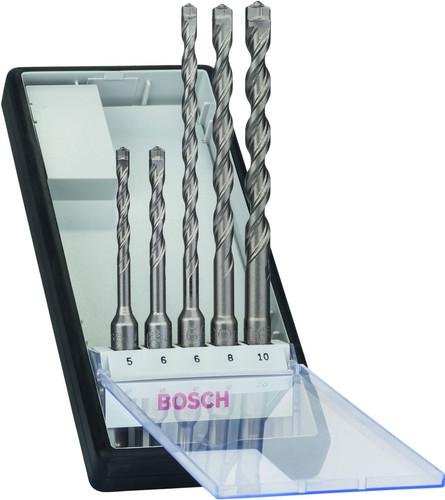 Bosch 5-delige SDS-Plus Robust Line Borenset Beton Main Image