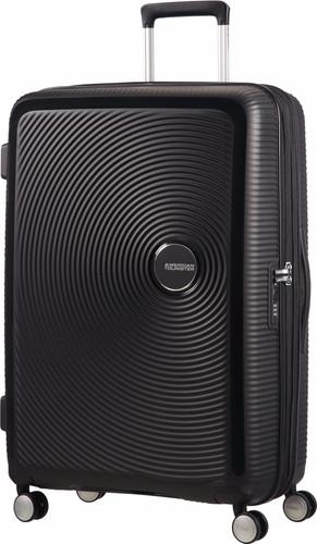 American Tourister Soundbox Expandable Spinner 77cm Bass Black Main Image