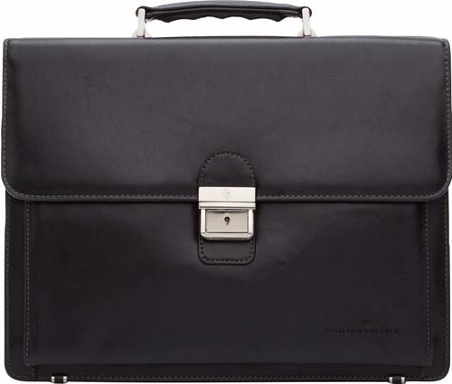 "Castelijn & Beerens Realta Laptop Bag 13.3"" Black Main Image"