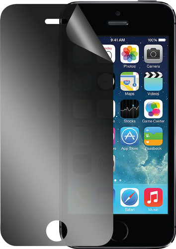 Azuri Apple iPhone 5 / 5S / SE Screen Protector Privacy Plastic Duo Pack Main Image