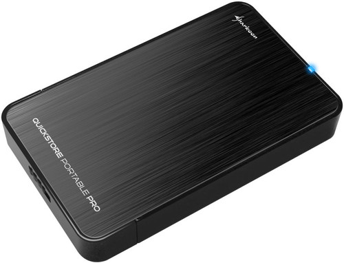 Sharkoon QuickStore Portable Pro 2,5 inch Zwart Main Image