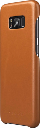 Mujjo Leather Case Samsung Galaxy S8 Plus Back Cover Brown Main Image