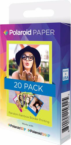 Polaroid ZINK Paper Rainbow 2x3 inch-20 pack Main Image