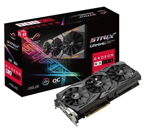 Asus ROG STRIX RX580 O8G GAMING Main Image