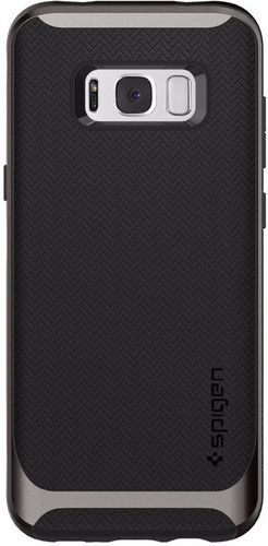 superior quality 5bed6 afd9b Spigen Neo Hybrid Samsung Galaxy S8 Plus Back Cover Grijs - Coolblue ...