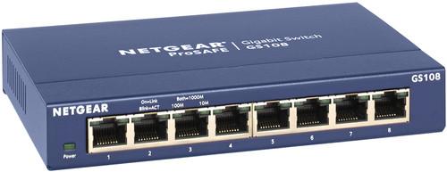 Netgear GS108 Main Image
