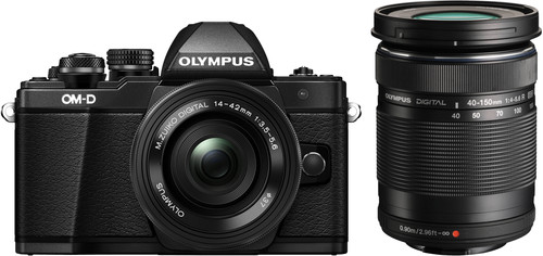 Olympus OM-D E-M10 Mk II Black + 14-42mm IIR + 40-150mm R Main Image