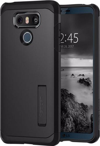Spigen Tough Armor LG G6 Back Cover Black Main Image