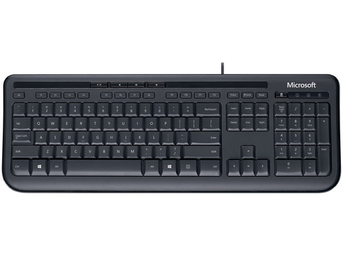 Microsoft Wired Keyboard 600 QWERTY Main Image