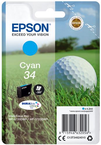 Epson 34 Cyan (C13T34624010) Main Image