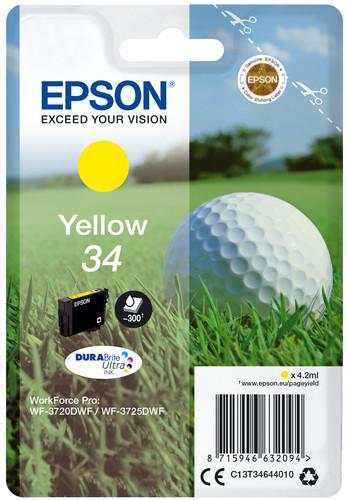 Epson 34 Yellow (C13T34644010) Main Image