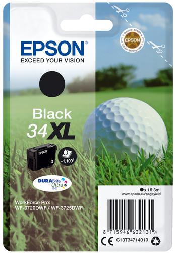 Epson 34XL Black (C13T34714010) Main Image