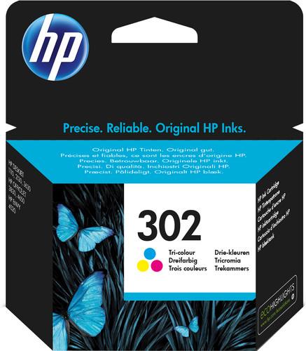 HP 302 Cartridge Color Main Image