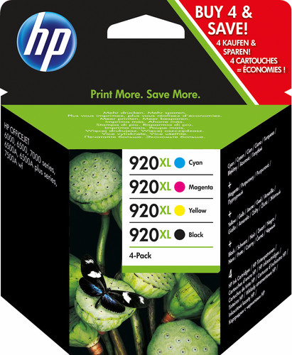 HP 920XL Combo Pack 4 Colors (C2N92AE) Main Image