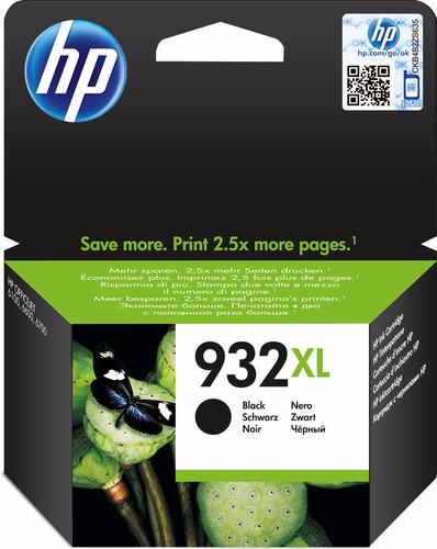 HP 932XL Officejet Ink Cartridge Zwart (CN053AE) Main Image