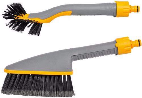 Hozelock Car washing brush and wheel brush Main Image