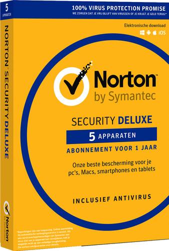 Norton Security Deluxe 2018 | 5 Apparaten | 1 Jaar Main Image