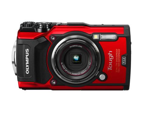 Olympus TG-5 Red Main Image