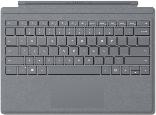 Microsoft Surface Pro Type Cover QWERTY Zilver Main Image