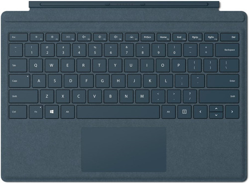 Microsoft Surface Pro Type Cover QWERTY Donkerblauw Main Image