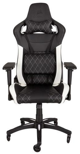 Corsair T1 Race Gaming Chair Zwart/Wit Main Image