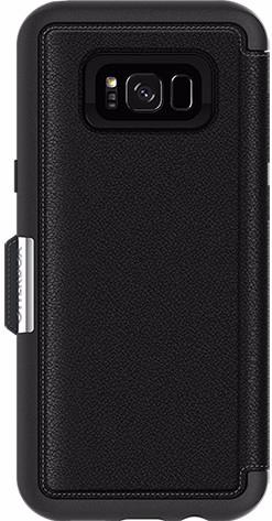 Otterbox Strada Samsung Galaxy S8 Plus Book Case Black Main Image
