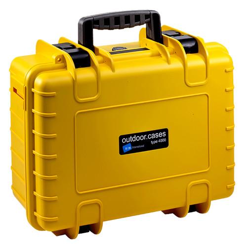 B & W type 4000 yellow with picking foam Main Image