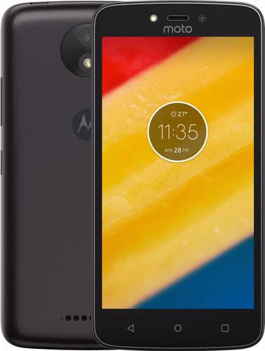 Motorola Moto C Plus Zwart Main Image