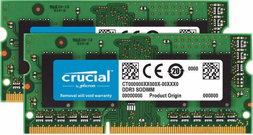 Crucial Standard 16GB SODIMM DDR3L-1600 2x 8GB Main Image