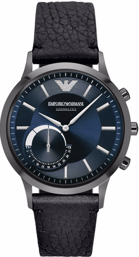 Second Chance Emporio Armani Connected Blue/Black Main Image