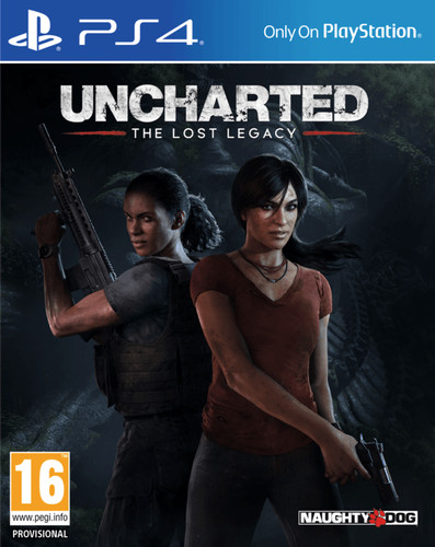 Uncharted 4: The Lost Legacy PS4 Main Image