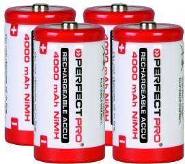 Perfectpro NiMH batteries 4 x C Main Image