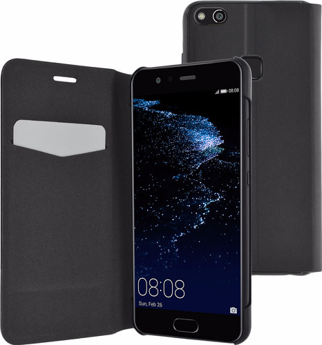 Azuri Booklet Ultra Thin Huawei P10 Lite Book Case Black Main Image