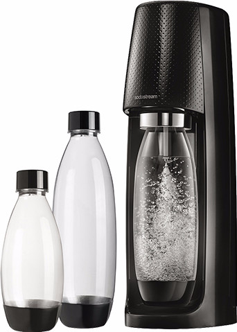 SodaStream Spirit Black + 3 bottles Main Image