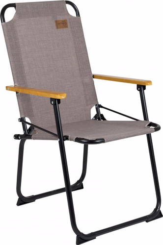 Bo-Camp Urban Outdoor Folding chair Brixton Taupe Main Image