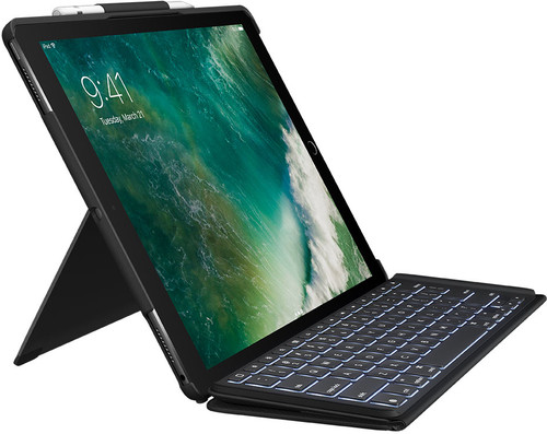 Logitech iPad Pro 12.9 Inch (2017) Slim Combo Keyboard Cover QWERTY Main Image