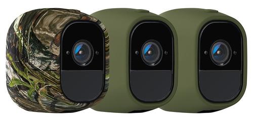Arlo Pro Skin 3-Pack Camouflage, Groen Main Image