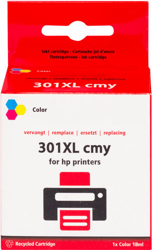 Pixeljet 301 3-Color XL for HP printers (CH564EE) Main Image