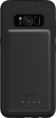 Mophie Charge Force Galaxy S8 Back Cover Black + Power Station Main Image