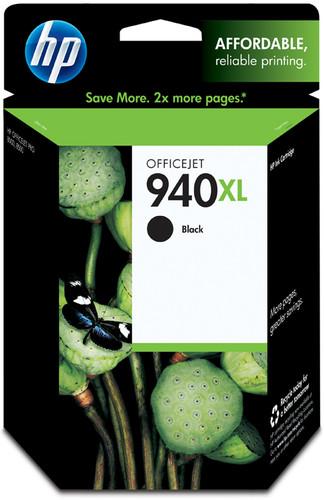 HP 940 Black XL Ink Cartridge C4906A Main Image