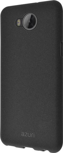 Azuri Flexible Sand Huawei Y6 (2017) Back Cover Black Main Image