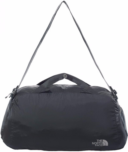 The North Face Flyweight Duffel Asphalt Gray Main Image