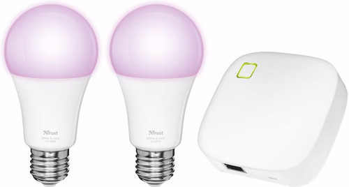 Trust Smart Home White and Color E27 Starterkit Main Image