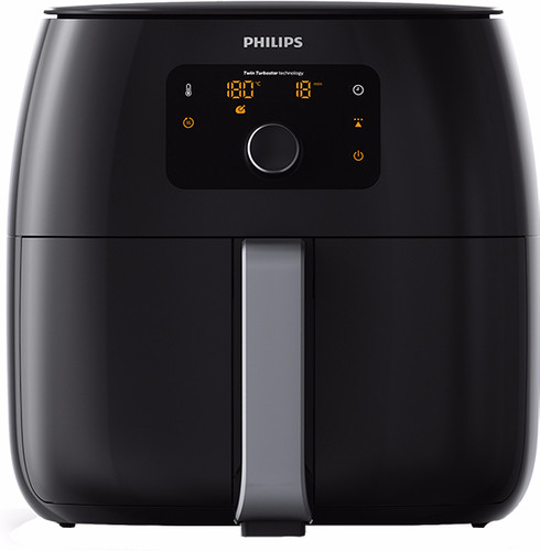 philips avance airfryer xxl hd9650/90 black - coolblue - before 23