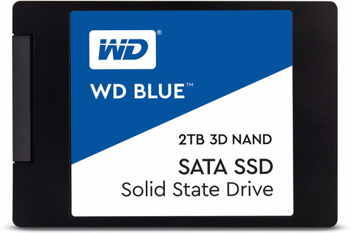 WD Blue 3D NAND 2TB 2,5 inch Main Image