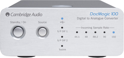 Cambridge Audio DacMagic 100 Zilver Main Image