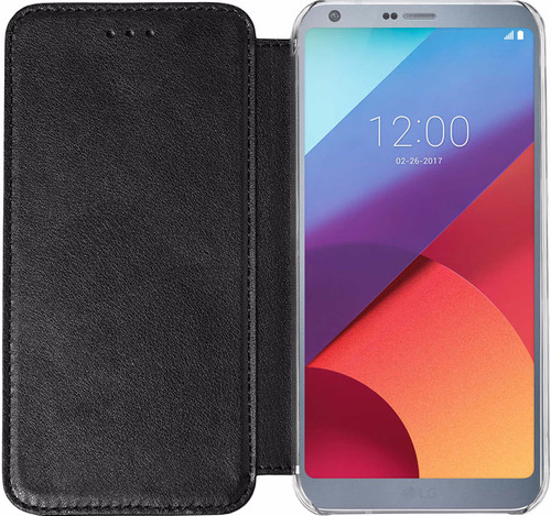 Azuri booklet LG G6 Book Case Black Main Image