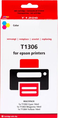 Pixeljet T1306XL 3-Kleuren Pack voor Epson printers (T13064010) Main Image