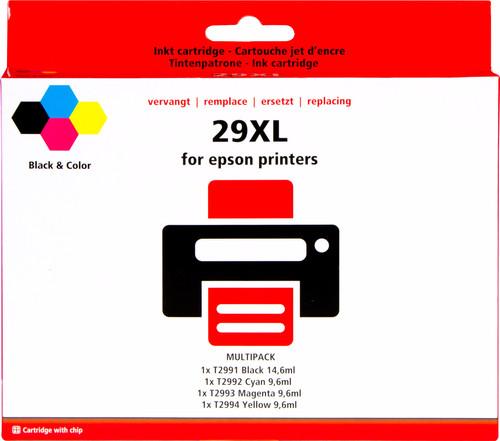 Pixeljet 29 XL 4-Color Pack for Epson printers (C13T29964010) Main Image